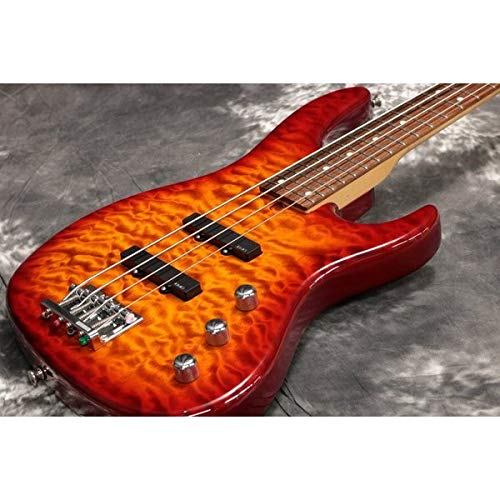 VELLMOR GUITARS/VJB-424QM Light Brown Sunburst ベルモアギターズ   B07NY8GS9V
