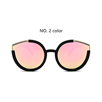 MOJINGYAN Gafas De Sol De Moda Cute Ladies Cat Eye ...