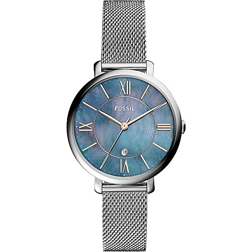 Fossil-Jacqueline-Three-Hand-Date-Stainless-Steel-Watch