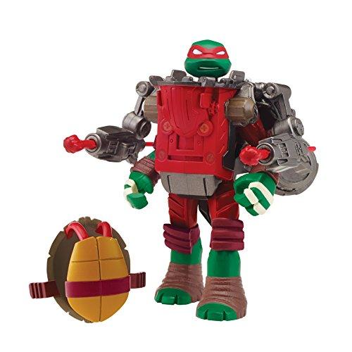 Teenage Mutant Ninja Turtles Mutations Raphael with Ground Pounder Battle Shell Action Figure