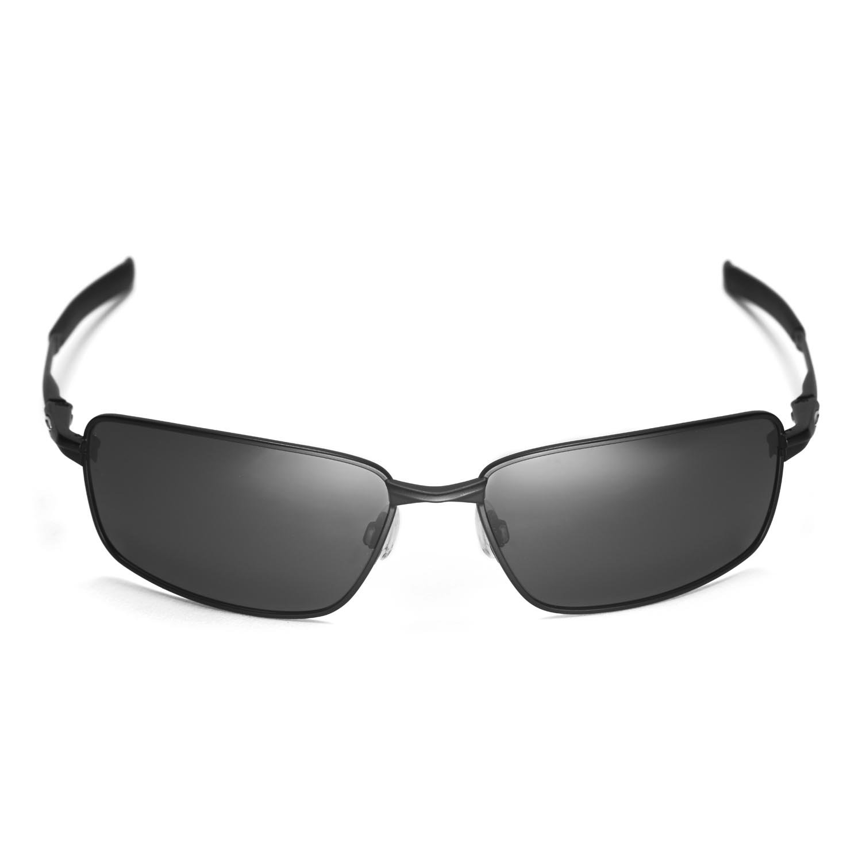 b77342417a Amazon.com  Walleva Replacement Lenses for Oakley Splinter Sunglasses -  Multiple Options Available (Black - Polarized)  Clothing