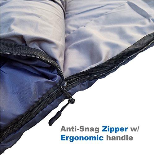 Sleeping Bag (47F/38F) Lightweight For Camping ...