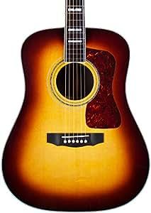 Guild D-55 Acoustic Guitar Antique Burst