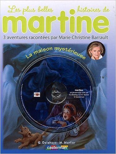 Martine Livres Cd La Maison Mysterieuse Livre Cd