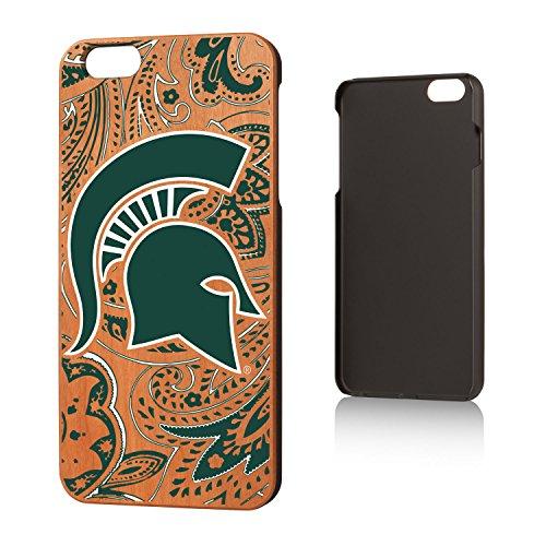 University Cherry Wood (Michigan State University Cherry Wood iPhone 6 Plus / iPhone 6s Plus Case NCAA)
