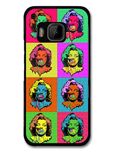 (Pop Art Zombie Death Horror Design Multicoloured Style case for HTC One)