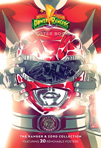 Red Book Poster (Mighty Morphin Power Rangers: Rangers & Zords Poster Book)
