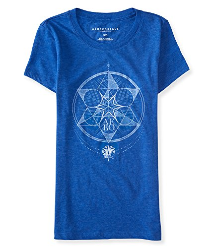 aeropostale-womens-star-graphic-t-shirt-m-spirit-blue