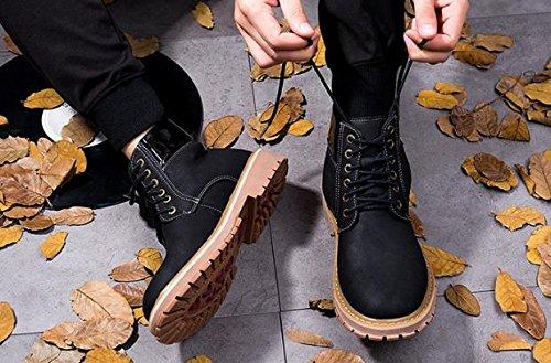 Las botas de viento impermeables de Inglaterra de los hombres del cord¨®n invierten el invierno cl¨¢sico , 46