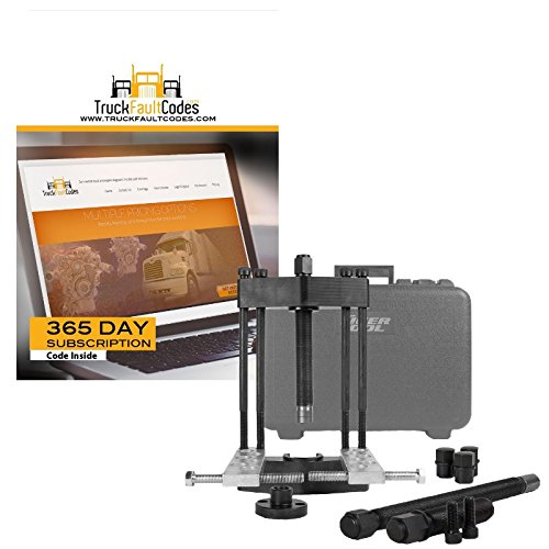 Tiger Tool Heavy Duty King Pin Press with 12 Month Subscription to TruckFaultCodes