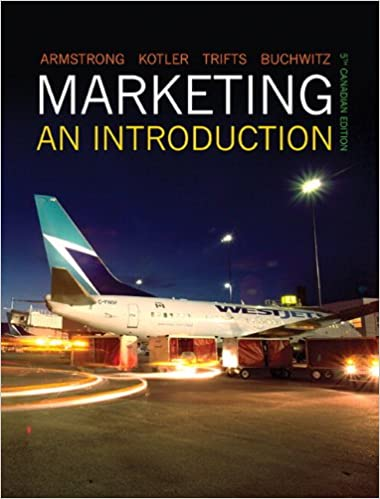 Marketing: An Introduction, Fifth Canadian Edition (5th Edition ...