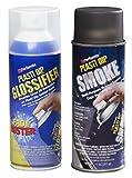 COMBO PACK PLASTI DIP Smoke Lens Spray + GLOSSIFER 11oz Spray Aerosol