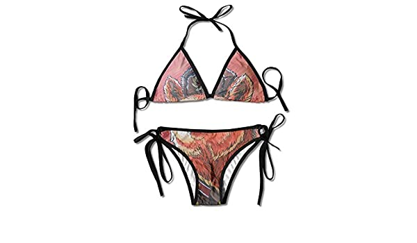 Conjunto de Bikini Sexy para Mujer con Arma de Oso soviético ...