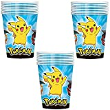 Pokemon Pikachu and Friends Party Paper Cups - 24 Pieces