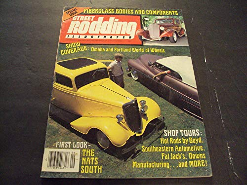 Street Rodding Illustrated Sep 1984 Fiberglass Bodies and Components