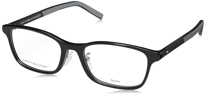 [トミーヒルフィガー] メガネフレーム TH 1578/F メンズ EU 53 (FREE サイズ) ブラック B07VH483JL