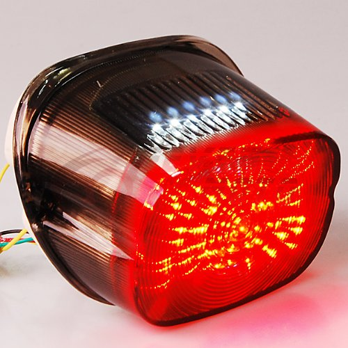 Smoked Tail Brake Turn Signals Led Light For Harley