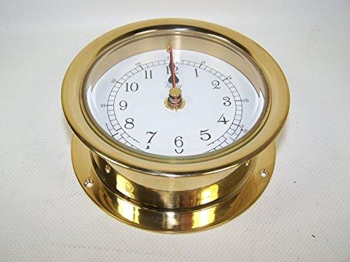 Victory RM616N Clock Brass Arabic Numbers 4.25
