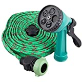 Buyerzone 4-in-1 Pressure Washing Multi functional Multi Color Water Spray with Hose Pipe