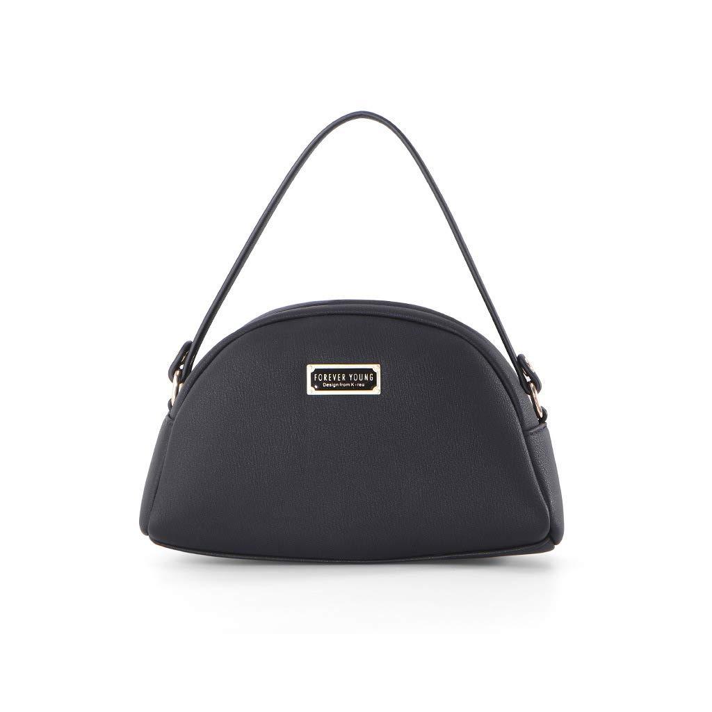 ballboU Women Leather Handbag Shoulder Lady Zipper Crossbody Bag