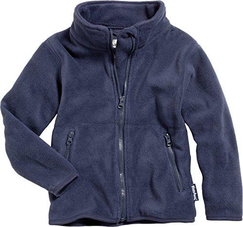 Playshoes Unisex - Kinder Jacke  Fleece-Jacke aus hochwertigem Fleece in blau oder pink von Playshoes, Art. 420011, Gr. 116 , Blau (11 marine )
