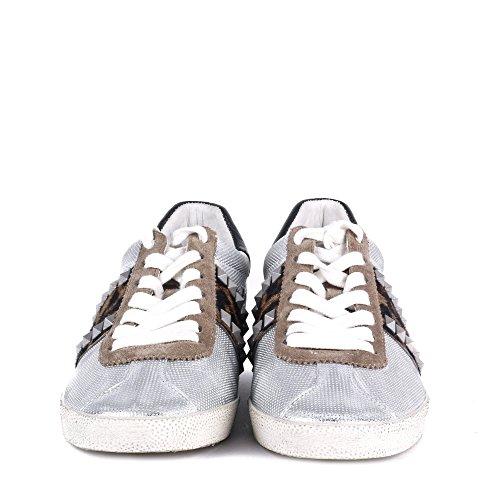 Ash - Ginger Trainers - Silver & Cocco, SILVER/ COCCO Silver