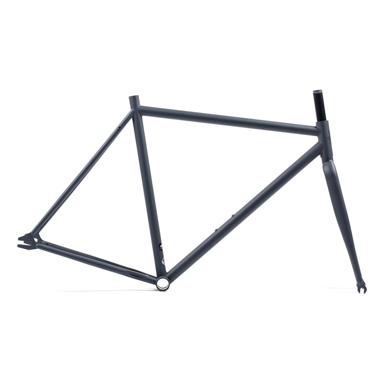 Amazon.com : Unbranded Steel Track Single Speed 700c Bicycle Frame ...