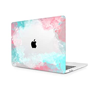 TwoL Funda Dura Carcasa MacBook Air 13 Pulgadas 2018 con Retina Display/Touch ID Modelo:A1932 Cute Painting