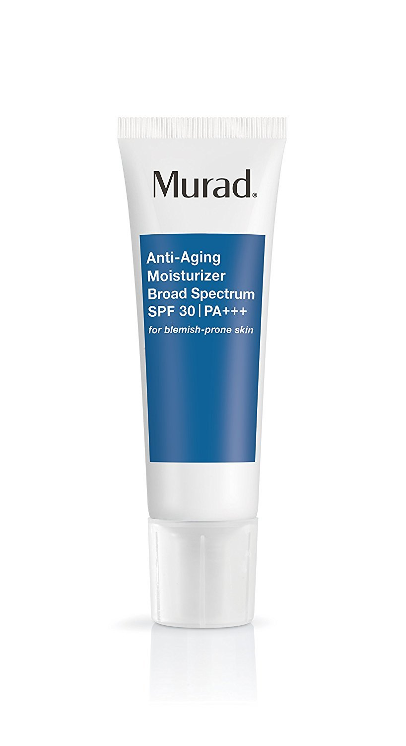 Murad Anti-Aging Acne Moisturizer with Broad Spectrum SPF 30 PA+++ - (1.7 oz), Ultra-Light Fast Absorbing Daily Moisturizer for Acne Prone Skin, Fights the Signs of Aging with Kombucha Defense Fab Products 767332107967