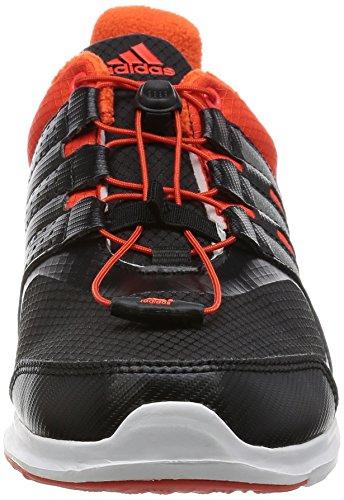 adidas Winterfast SL K, Zapatillas de Running Para Niños Negro (Negbas / Narsol / Narfue)