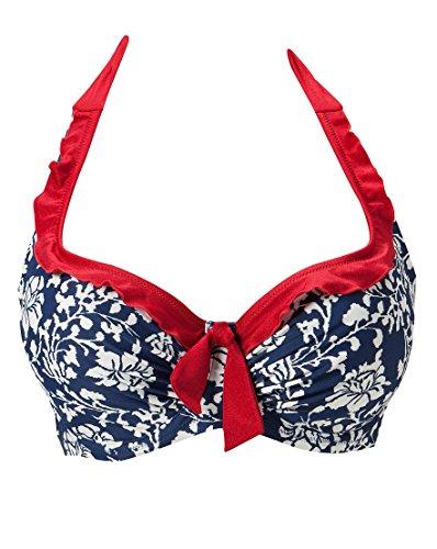 Per Moi Aloha ferretto con allacciatura dietro al collo Top Bikini con 7102
