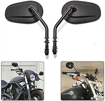 universal schwarz für Harley Davidson XL 883 Sportster Custom Spiegel Set