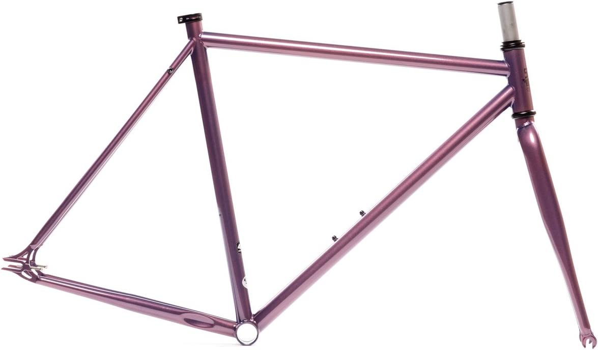 State Bicycle Co Fixed Gear Fixie Chromoly Frame and Fork Set