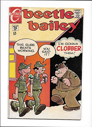 BEETLE BAILEY #67 [1969 VG-FN] ICE CREAM COVER