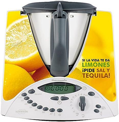 thermodernizate- Vinilos Thermomix TM31 Tequila y Limones: Amazon.es