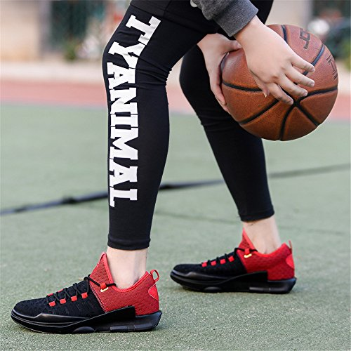 JIANXI ランニングシューズ バスケットシューズ バスケットボールシューズ ハイカット スニーカー ジュニア メンズ 運動靴 男性