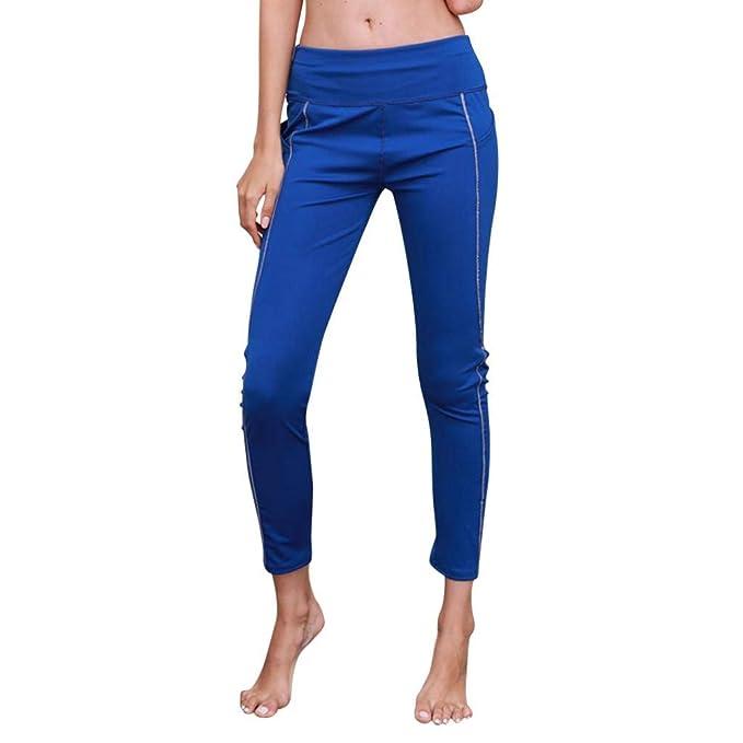 design senza tempo 66ef6 a2b6b Pantaloni ASHOP Pantaloni da Yoga Riflettenti da Donna ...