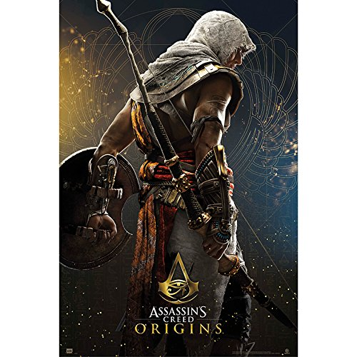 Grupo Erik editores Poster Assassin's Creed Origins Hero