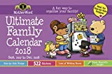 2018 Motherword Magnetic English Calendar