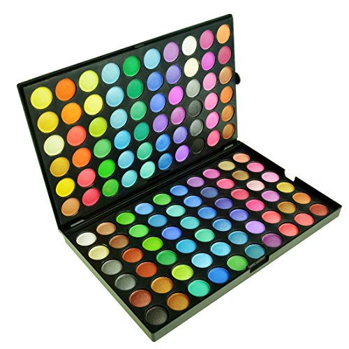Jmkcoz 120 Colors Eyeshadow Eye Shadow Palette Makeup Kit Se