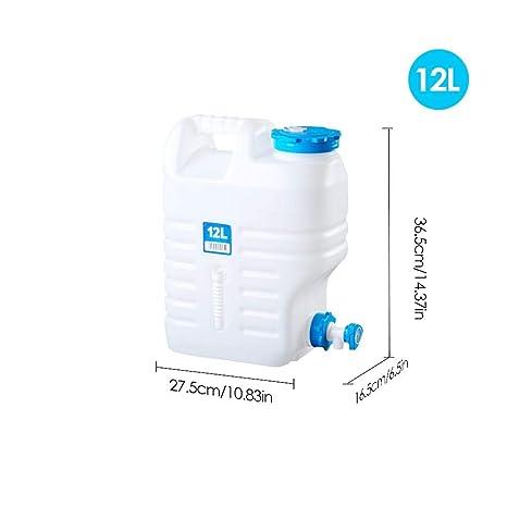 332 Page ANN Agua Bidón Plegable Agua Potable dispensador de Agua portátil con Grifo/caño