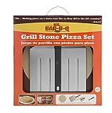 Mr. Bar-B-Q 06187X Grill Stone Pizza Set