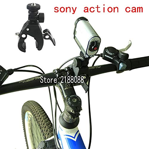Price comparison product image Susins Accessories Roll Bar Mount Cam Bar Mount Holder for Bike Bicycle Multi-Angle for Sony X1000V As30 Az1 As20 Yi 4K Action Camera Accessories
