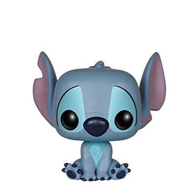 Funko Pop Disney: Lilo & Stitch - Stitch Seated Action Figure: Funko Pop! Disney:: Toys & Games