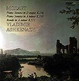 Mozart: Piano Sonata in D Major K.576 / Piano Sonata in A Minor K.310 / Rondo in A Minor K.511