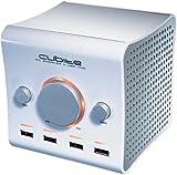 Boynq CUBITEWH Cubeite PC Speaker and USB Hub (White)