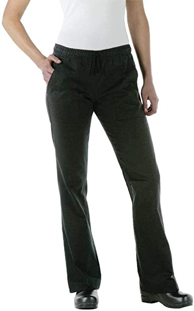 Amazon Com Chef Works Pantalones De Chef Para Mujer Clothing