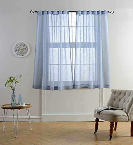 Sheer Living Room Curtains: Amazon.com