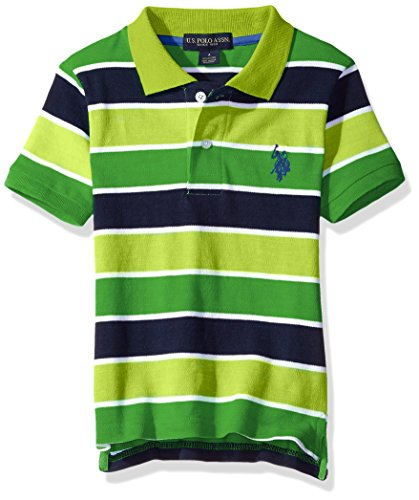 U.S. Polo Assn. Boys Short Sleeve Space Dyed Shirt