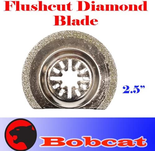 Craftsman Dremel Multi-Max Compatible Oscillating Diamond Swing Blade